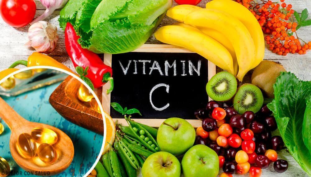 Fødevarer med højt C-vitamin
