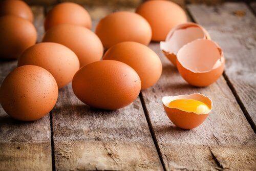 Æg er rige på proteiner