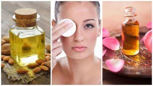 Fjern din makeup med disse 6 naturlige olier