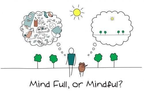 Mindfulness er en god måde at opnå et positivt sind på