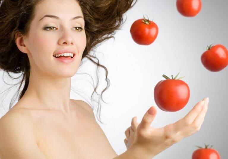 Tomater giver sund hud
