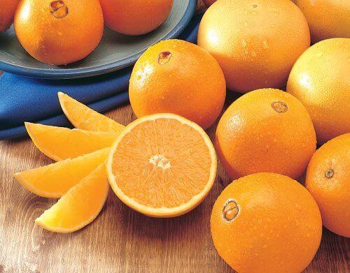 Appelsiner er en vigtig kilde til c-vitamin
