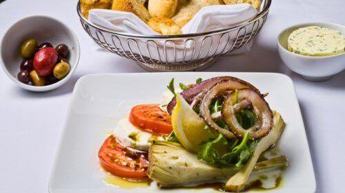artiskok-diæten og salat