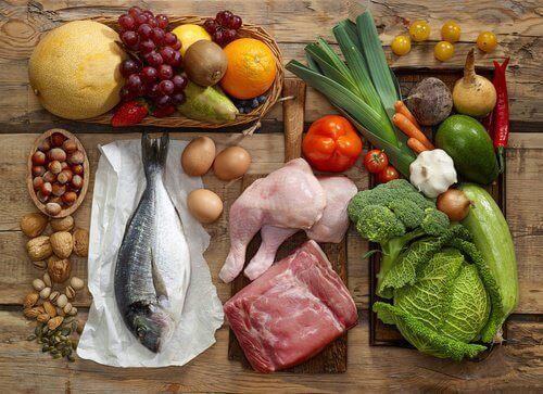 Det er vigtigt at indtage en afbalanceret kost