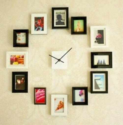 Du kan lave et rigtigt originalt ur med billederne som tal
