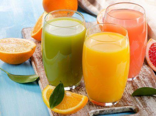 Frisk juice er noget du ikke bør give dine børn til morgenmad
