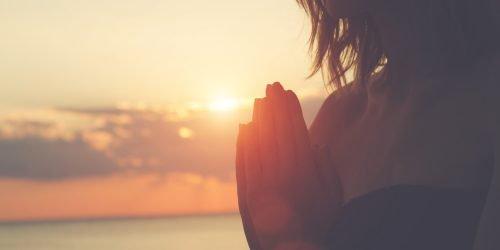 Namaste er en måde at udtrykke ydmyghed på
