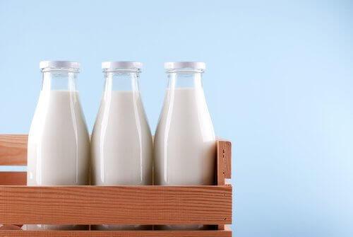 Mejeriprodukter har et højt indhold af calcium