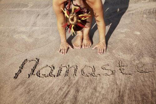 Namaste betyder både hej og farvel