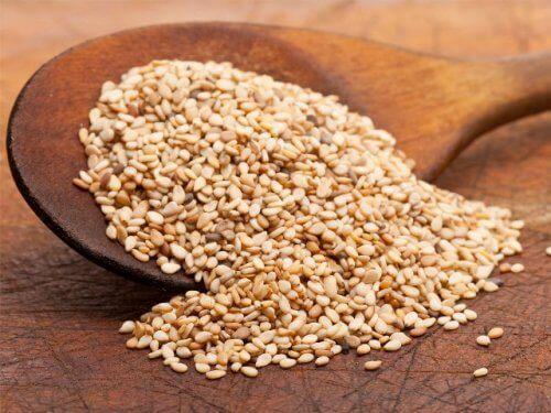 Sesamfrø indeholder essentielle næringsstoffer