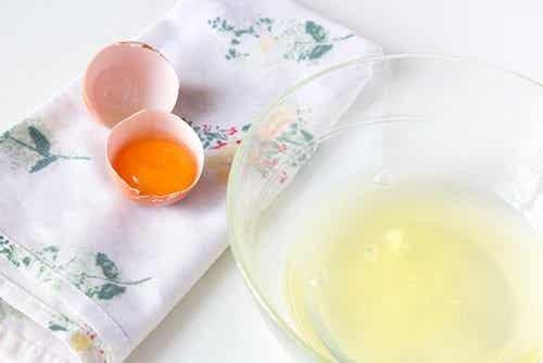Prøv at bruge æggehvider til din hud