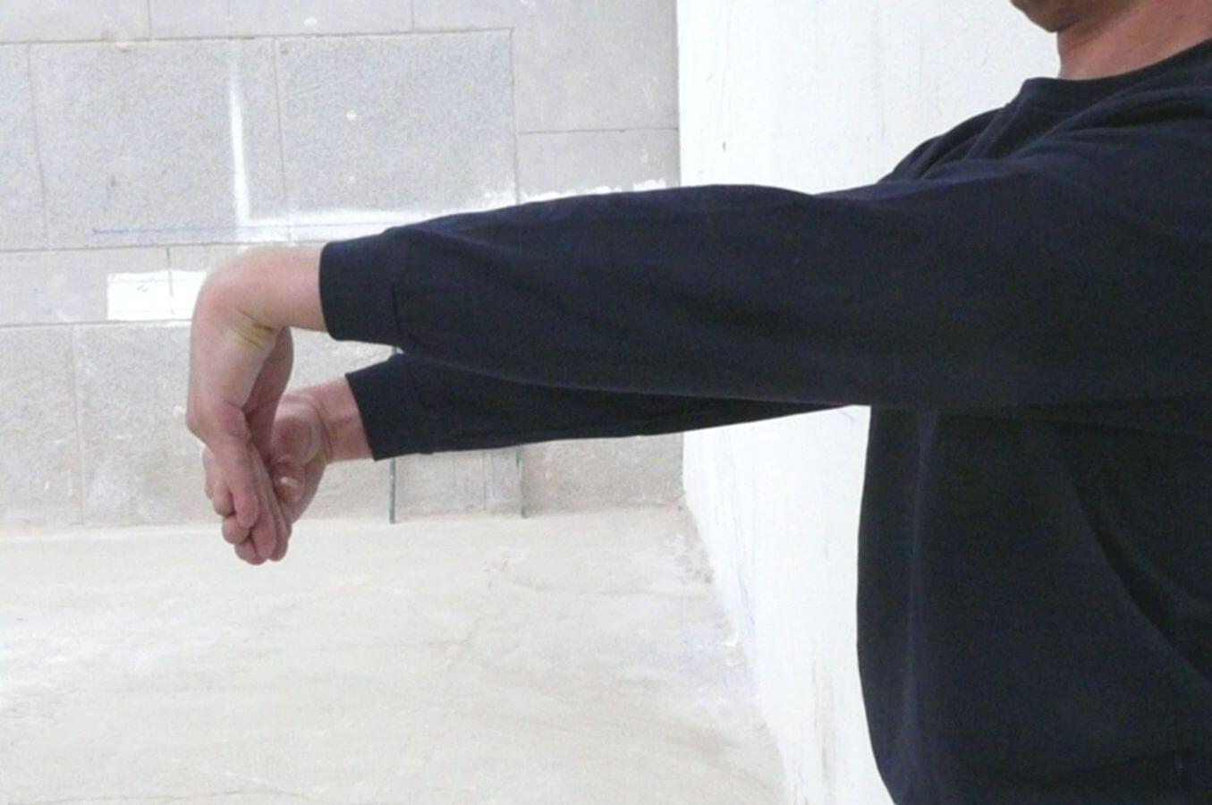Udstrækning af håndled