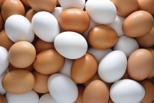 Æg er perfekte til proteinrige hårmasker