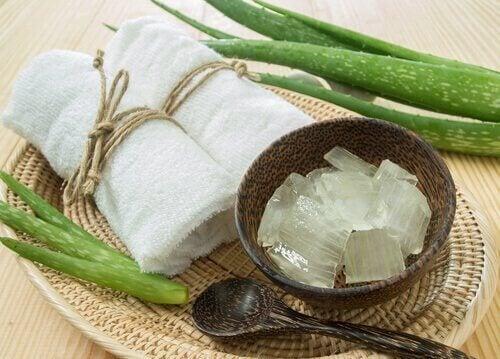 Aloe vera og olivenoliecreme glatter dit hår uden at beskadige det