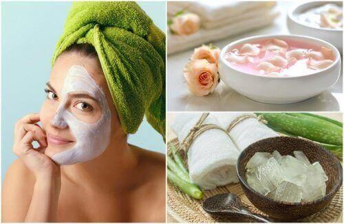 Ansigtsmasker til at fjerne døde hudceller