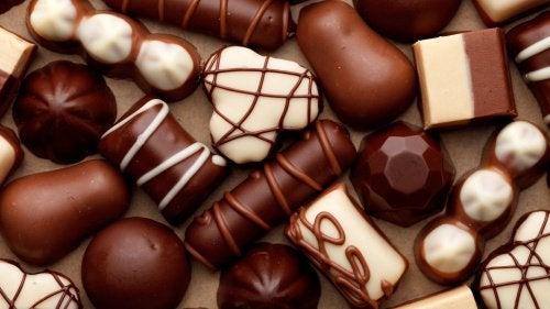 For meget chokolade kan give sure opstød