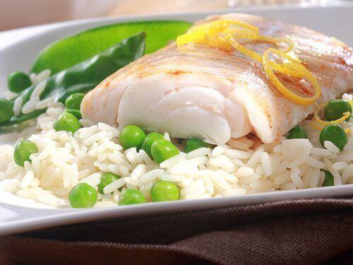 Fisk og ris er rigtig sundt