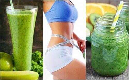 Med disse grønne juice opskrifter bliver vægttab meget lækrere