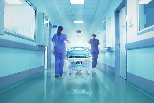 På hospitalet skal der helst være klinisk rent
