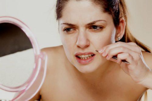 Uønsket ansigtshår kan skyldes flere ting