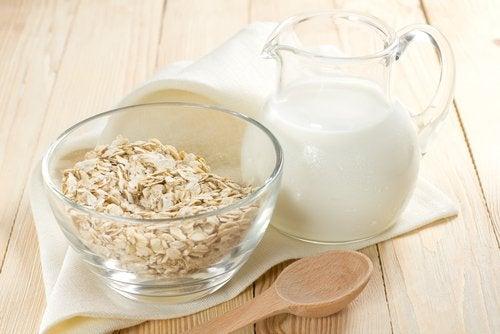 Havremælk hjælper med at rense kroppen
