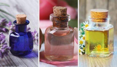 De 10 bedste æteriske olier til huden