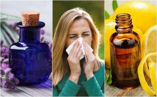 6 æteriske olier, der kan dæmpe symptomerne på allergier