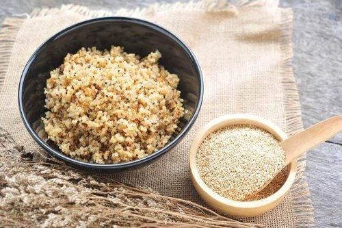 Quinoa er en god erstatning for traditionelle kornsorter