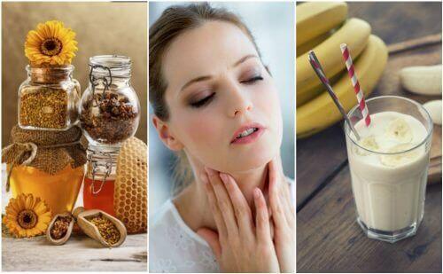 6 naturlige midler til at lindre en tør hals