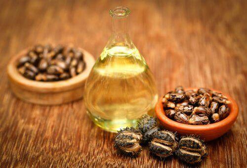 Ricinusolie og mandelolie er fulde af fedtsyrer og proteiner