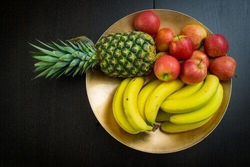 spis ikke frugt efter du har spist