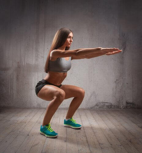Det er vigtigt at have god teknik, når du udfører squats