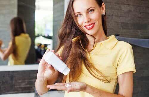 Naturlig opskrift på shampoo, du kan lave derhjemme