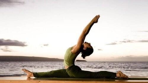 Yoga er sundt for krop og sjæl