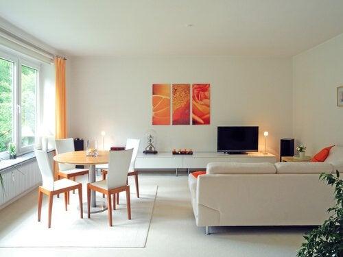 Smuk indretning af hjemmet øger dit åndelige helbred
