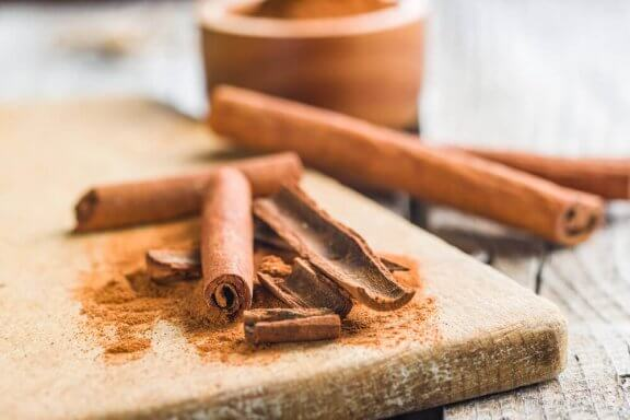 Kanel er et fedtforbrændende krydderi