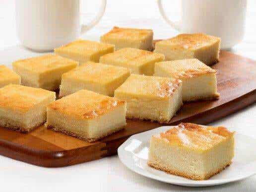 Lav cheesecake med hytteost uden ovn