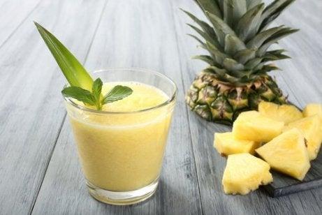 papaya og ananas