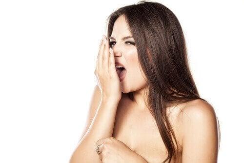Dårlig ånde kan være forårsaget af tarmlidelser