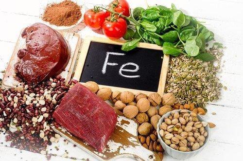 Der er visse fødevarer, du kan spise, der har et meget højt indhold af jern