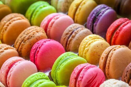 Franske macarons