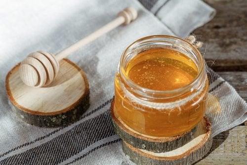 honning og forkølelser