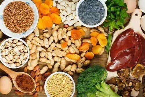 Spis disse fødevarer for at øge jernniveauer