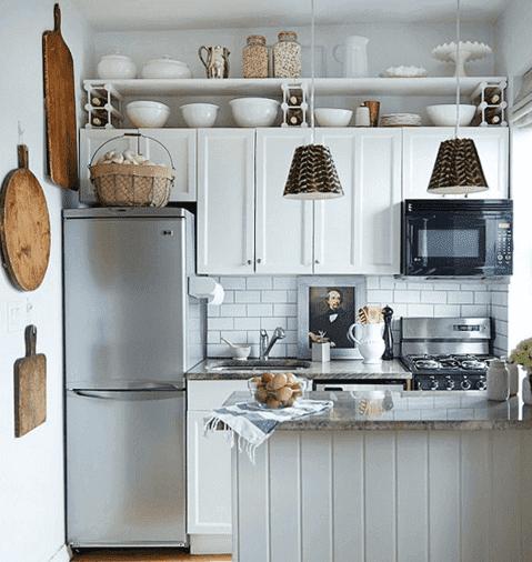 Et moderne køkken