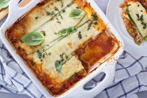 Opskrift på lasagne uden pasta