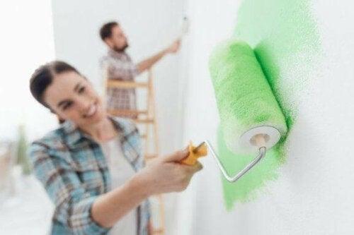 Gængse fejl, når man vil male et hus