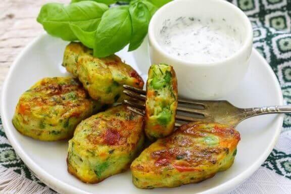Opskrift på sunde og lækre vegetariske nuggets