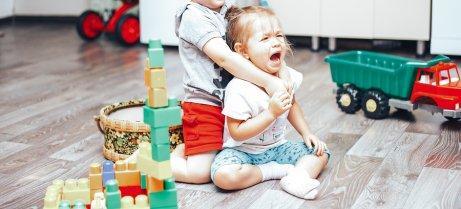 søskende der skændes