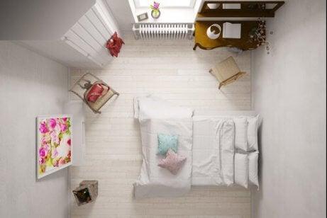 indretning af små værelser