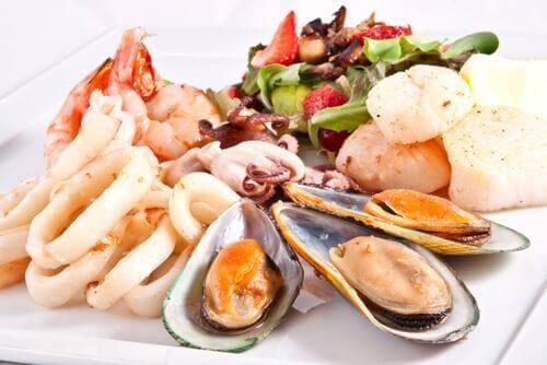 Skaldyr kan blive til en lækker suppe med skaldyr
